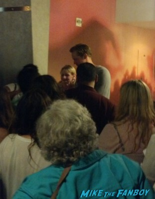 Alexander skarsgard signing autographs for fans after a q and a for the east rare promo