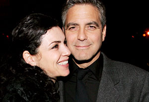"George Clooney and Julianna Margulies Warner Bros. Premiere Of ""Syriana"" - After Party"