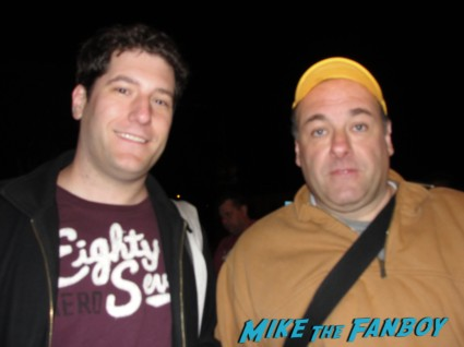 Meeting James Gandolfini! RIP To The Sopranos Star! With Marcia Gay Hardin! Jeff Daniels! Hope Davis! Patrick Fugit! Autographs! Photos! And More!