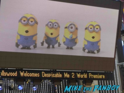 Despicable Me 2 movie premiere red carpet steve carell rare