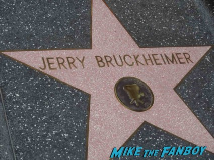 Jerry Bruckheimer Walk Of Fame Star Ceremony! With Johnny Depp! Tom Cruise! And Jon Voight! Awesome Photos! Autographs! And More!