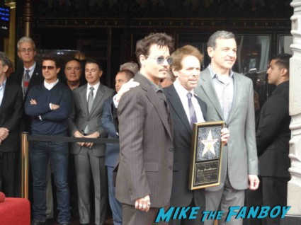 tom cruise and johnny depp at the Jerry Bruckheimer Walk Of Fame Star Ceremony! With Johnny Depp! Tom Cruise! And Jon Voight! Awesome Photos! Autographs! And More!