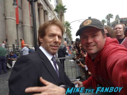 jerry bruckheimer signing autographs at the Jerry Bruckheimer Walk Of Fame Star Ceremony! With Johnny Depp! Tom Cruise! And Jon Voight! Awesome Photos! Autographs! And More!