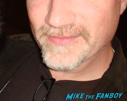 David Fincher fan photo flop rare signing autographs rare promo