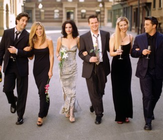 Friends cast photo hot courteney cox lisa kudrow rachel green jennifer aniston