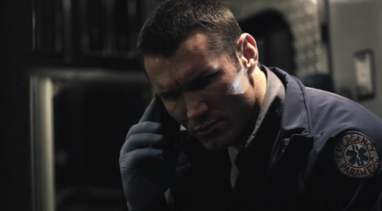 12 rounds reloaded WWE Superstar Randy 'The Viper' Orton hot sexy rare promo press stil