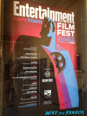 Entertainment weekly capetown film festival sign rare promo