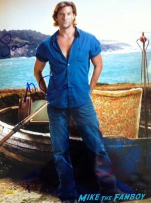 Henry Ian Cusick signed autograph photo rare lost star sexy promo
