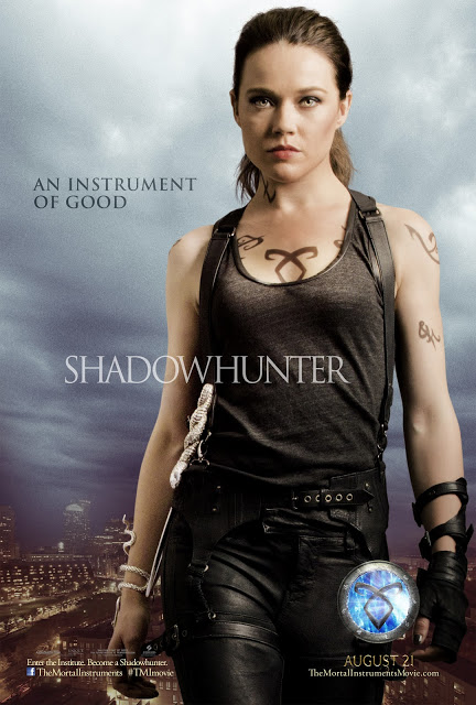 Isabelle-lightwood mortal instruments individual movie poster promo