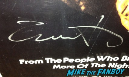 Jamie lee curtis halloween 2 signed autograph michael myers mask rare prop promo