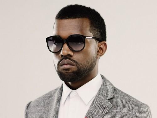 Kanye West photo rare headshot promo