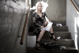 Lauren Beukes promo photo shoot the shining girls rare promo Lauren Beukes by Casey Crafford