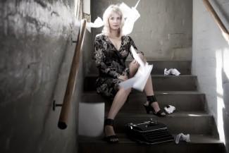 Lauren Beukes promo photo shoot the shining girls rare promo Lauren Beukes by Casey Crafford