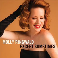 MOLLY ringwald except sometimes cd cover signed at newbury comics