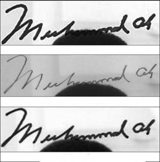 Muhammad Ali AutoPen signature autograph