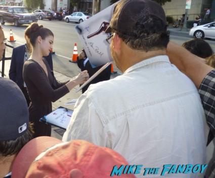 lucy griffiths  signing autographs for fans True Blood Season 6 Premiere! Alexander Skarsgard! Sam Trammell! Rutina Wesley! Joe Manganiello! Rutger Hauer! Deborah Ann Woll! Alan Ball! Kristin Bauer! Autographs! Photos! And More!
