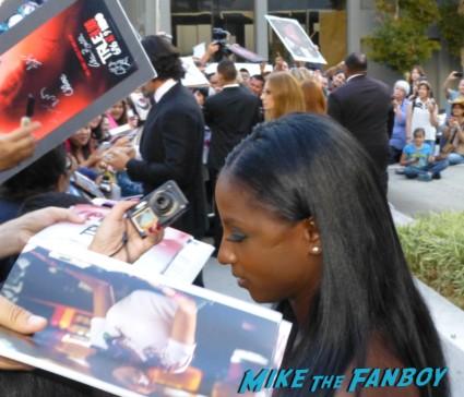 rutina wesley signing autographs for fans True Blood Season 6 Premiere! Alexander Skarsgard! Sam Trammell! Rutina Wesley! Joe Manganiello! Rutger Hauer! Deborah Ann Woll! Alan Ball! Kristin Bauer! Autographs! Photos! And More!