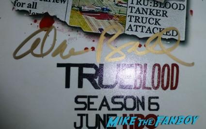 alan ball signing autographs for fans True Blood Season 6 Premiere! Alexander Skarsgard! Sam Trammell! Rutina Wesley! Joe Manganiello! Rutger Hauer! Deborah Ann Woll! Alan Ball! Kristin Bauer! Autographs! Photos! And More!