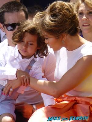 Jennifer Lopez Arriving to the jennifer lopez walk of fame star ceremony