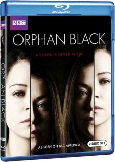 Orphan black blu ray cover key art rare promo