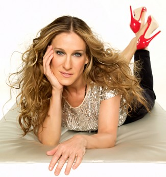 Sarah Jessica Parker and her new shoe line hot sexy sex and the city star