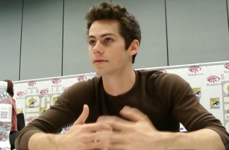Dylan O'Brien Teen Wolf Star Stiles interview comic con 2013 rare
