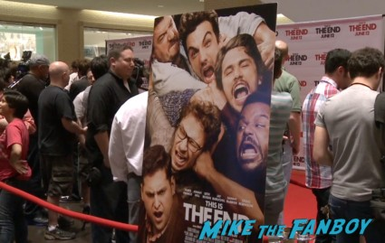 This is the end seth rogan q and a dallas texas rare signing autographs for fans