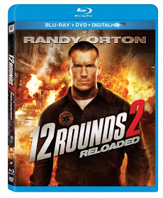 12 rounds 2 reloaded cover art blu ray rare hot 12 rounds reloaded WWE Superstar Randy 'The Viper' Orton hot sexy rare promo press stil