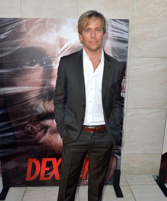 sean patrick flannery at the dexter season 8 red carpet premiere photos michael c hall julie benz