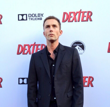 desmond harrington at the dexter cast at the dexter season 8 red carpet premiere photos michael c hall julie benz