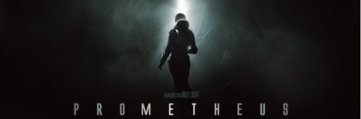 Prometheus logo rare movie poster one sheet rare