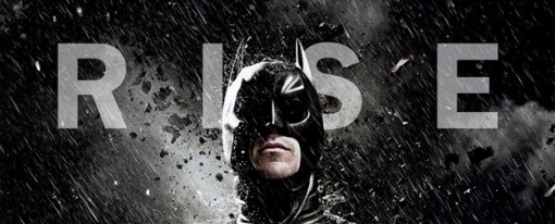dark knight rises logo movie poster promo christian bale