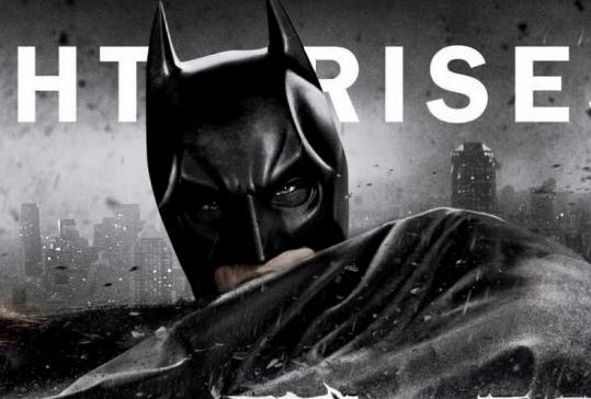 dark knight rises logo movie poster promo christian bale