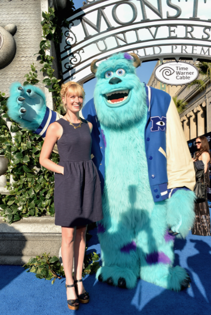 beth behrs on the red carpet at the Monsters University Movie Premiere Photos! Billy Crystal! Gwen Stefani! Gavin Rossdale! Sean Hayes! Beth Behrs! John Ratzenburger! Mike! Sully! And More!