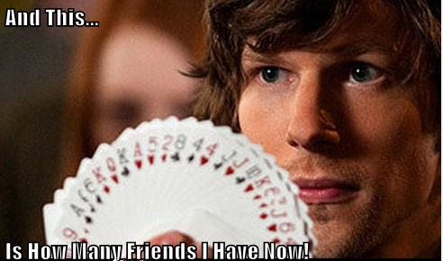 Now You See Me Meme millions of friends jessie eisenberg