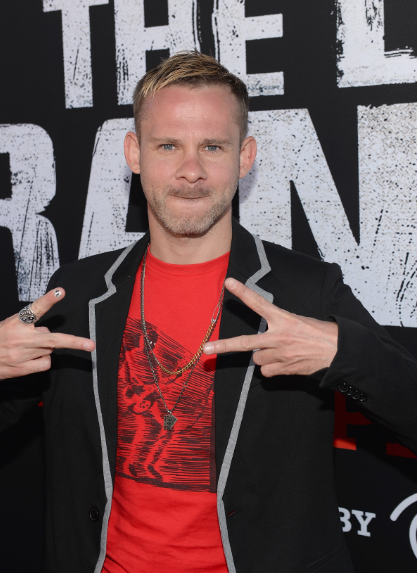 dominic monaghan on the red carpet at the Lone Ranger Movie Premiere signing autographs