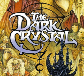Dark Crystal logo movie poster rare promo one sheet poster