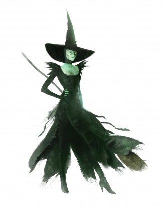 OZ: THE GREAT AND POWERFUL Wicked Witch Costume Sketch