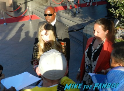 Claire Julien signing autographs bling ring movie premiere emma watson signing autographs 002