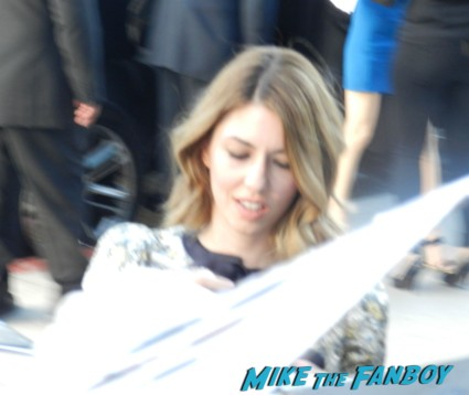 sofia Coppola signing autographs bling ring movie premiere emma watson signing autographs 018