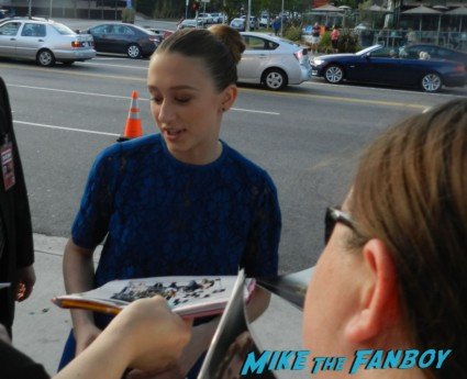 Taissa Farmiga signing autographs at the bling ring movie premiere emma watson signing autographs 019