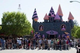 adult swim funhouse sdcc 2013 event jump house rare