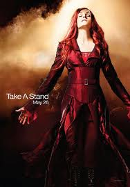 X-Men The Last Stand Famke Janssen jean grey individual promo movie poster promo