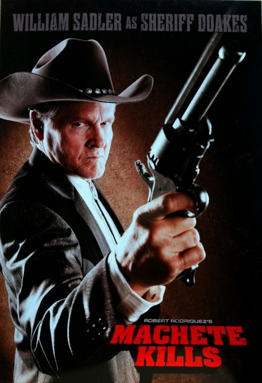 william sadler machete_kills individual one hseet movie poster rare hot sexy one sheet photo