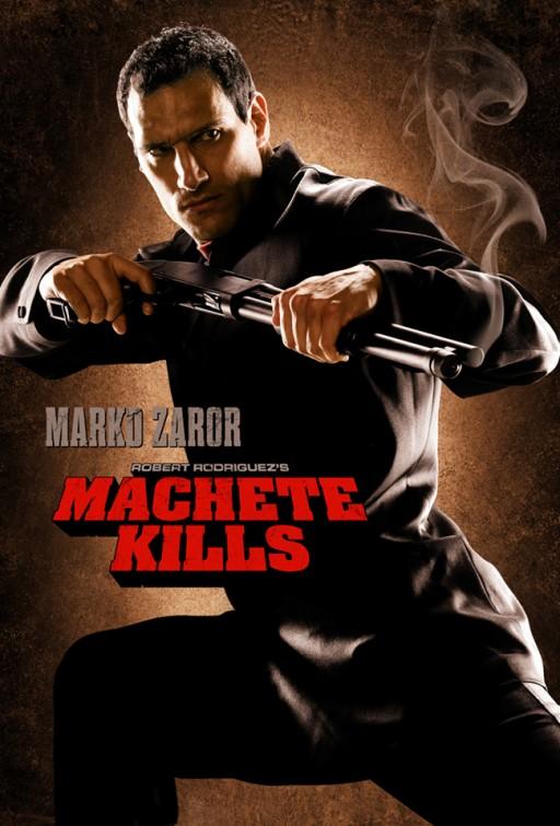 Marco zaror machete_kills individual one hseet movie poster rare hot sexy one sheet photo