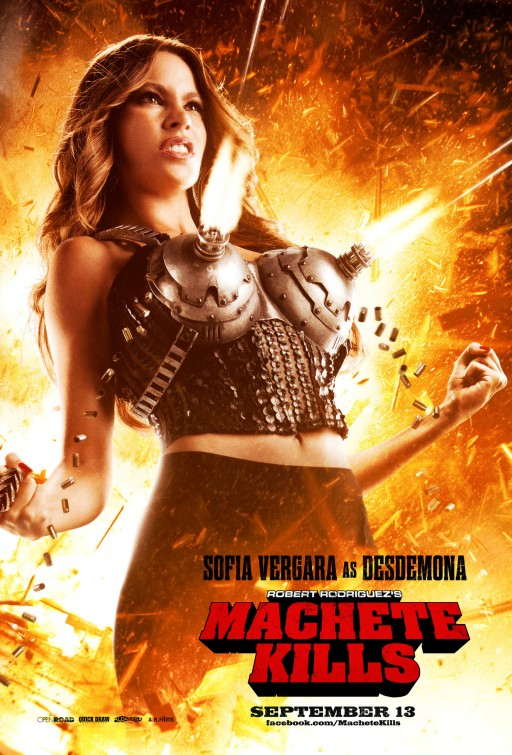 sophia Vergara machete_kills individual one hseet movie poster rare hot sexy one sheet photo
