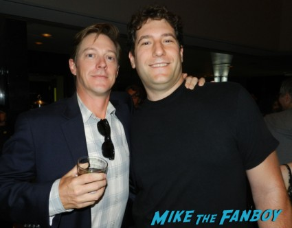 kevin rahm signing autographs mad men q and a emmy party 007