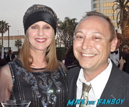 Pam dawber with keith coogan now 2013 fan photo signing autographs for fans rare hot