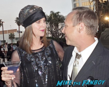pam_and_keith_talking Pam dawber with keith coogan now 2013 fan photo signing autographs for fans rare hot