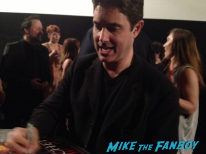 zach galligan signing autographs Hatchet 3 Movie Premiere Report! With Zach Galligan! Kane Hodder! Derek Mears! Sid Haig! BJ McDonnell! Danielle Harris! Autographs! Photos! And More!